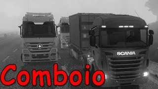 Euro Truck Simulator 2 Multiplayer -- Sobre Comboio
