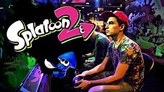 ¡Salgo en el último vídeo de Nintendo! | Probando Splatoon 2 en la Heroes Manga Madrid