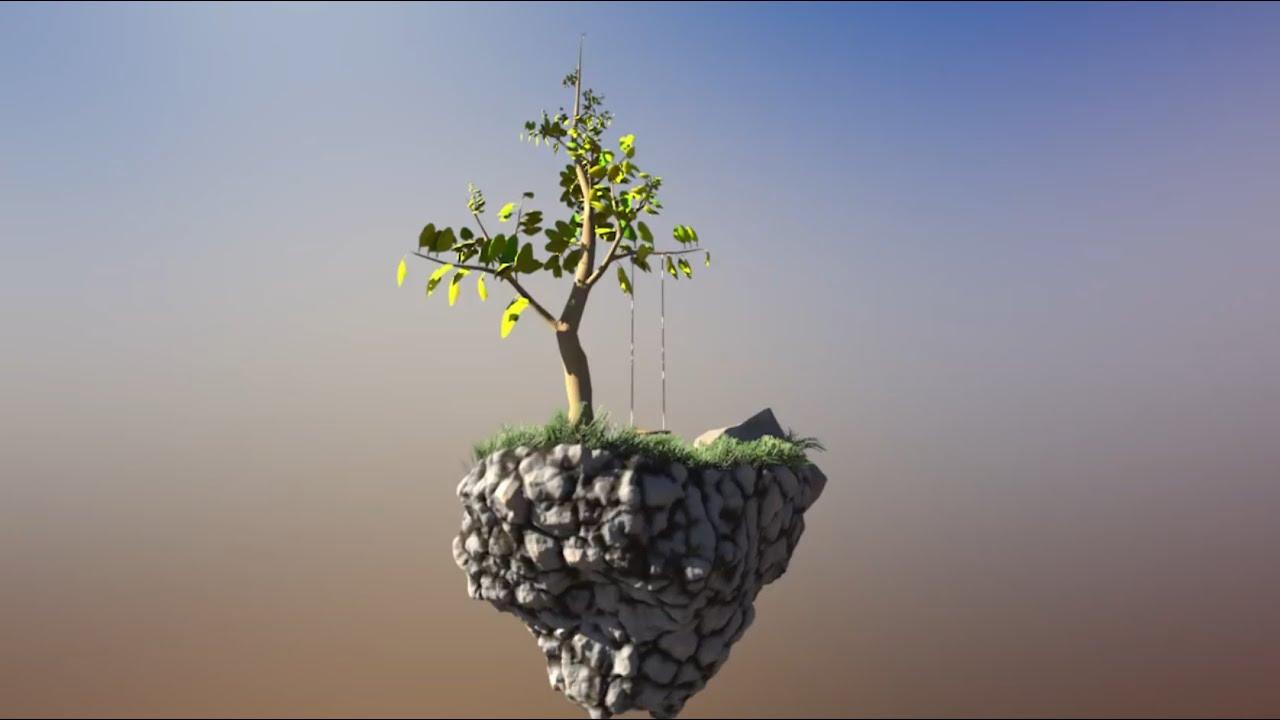 Houdini Tree Swing Vellum Solver Tutorial