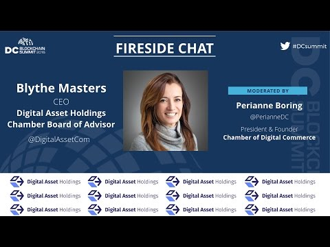 Fireside chat With Blythe Masters