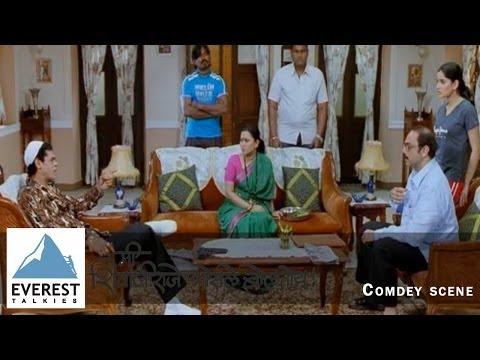 Me Shivajiraje Bhosale Boltoy - Scene | Marathi Movie | Sachin Khedekar, Priya Bapat thumbnail
