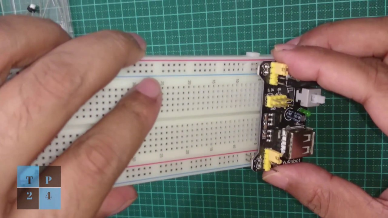 Basic Electronic Projects How To Use 5v 33v Power Supply Module In Circuits Breadboard