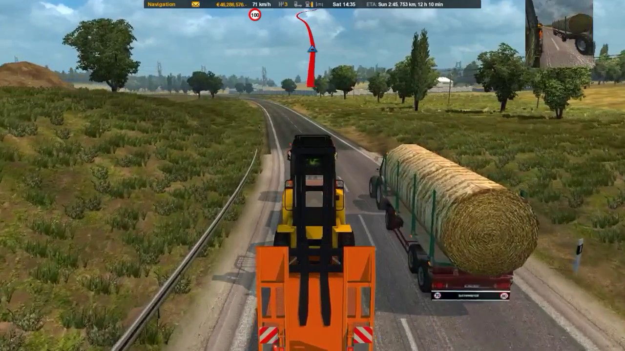 Real Traffic Density mod for Euro Truck Simulator 2