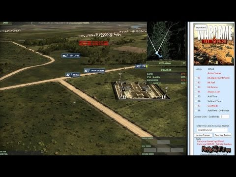 Wargame Red Dragon. Читер - багоюз. (multiplayer cheater) 10х10.