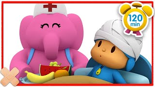 🤕 POCOYO in ENGLISH - Pocoyo is sick [ 120 minutes ] | Full Episodes | VIDEOS and CARTOONS for KIDS