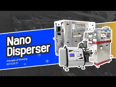 Nano Disperser-Principle of Working