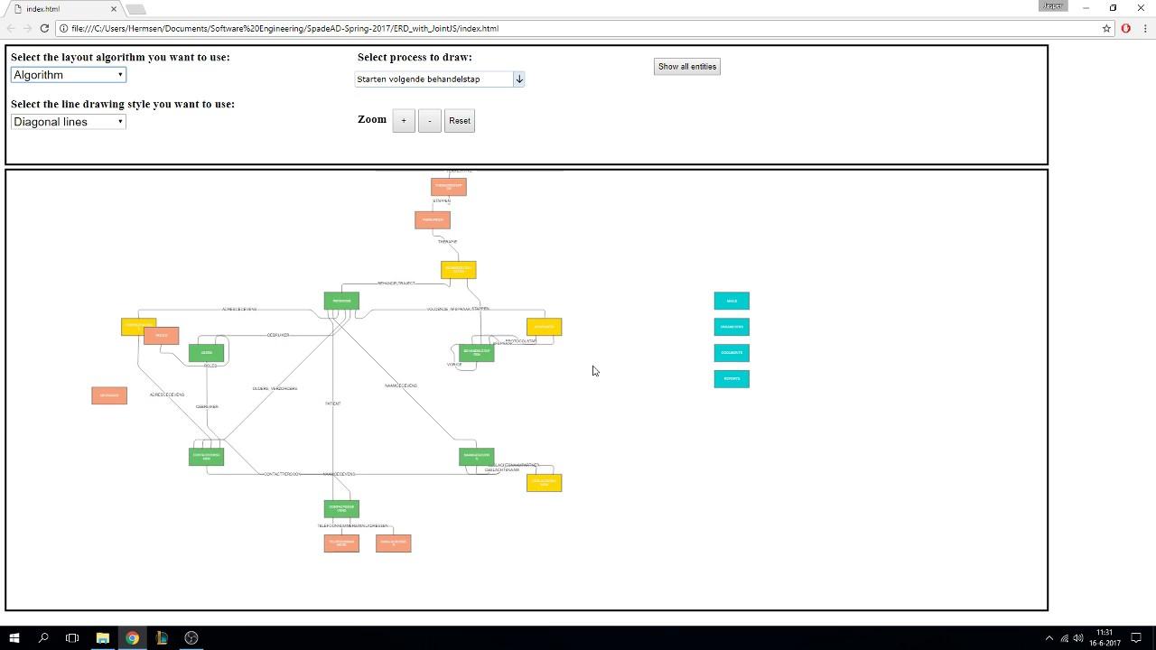 20 20 20 Demo van prototype automatisch ERD diagrammen maken ...