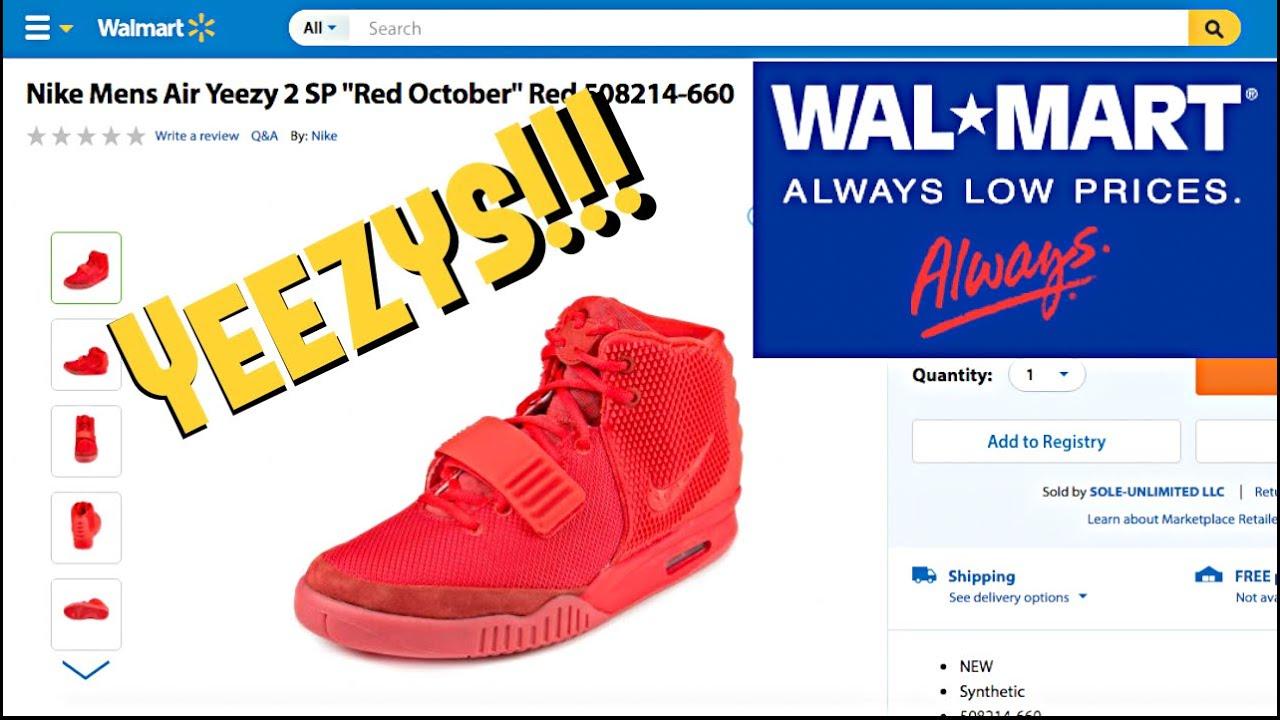 d258bfc6150 Yeezys at Walmart!!! - YouTube