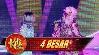 Duet Keren! Rina Nose Feat Iyeth Bustami - Kontes 4 Besar KDI