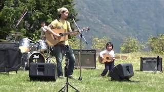 演奏:ajisai まきばLIVE ♪ (2019/4/7) 山本牧場 しば桜まつり 2019年...