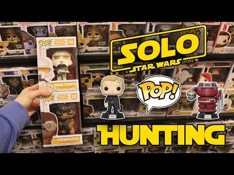 Solo Star Wars Funko Pop Hunting!