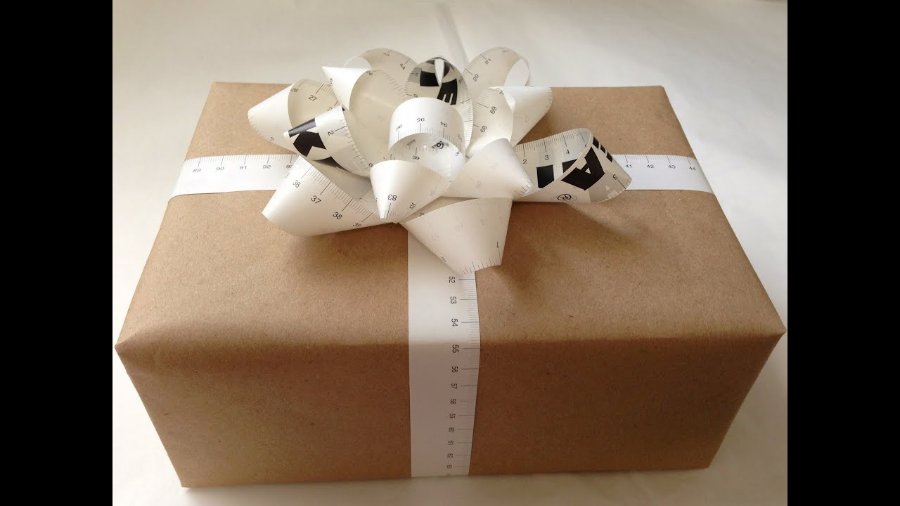 Gift wrapping basics natalies creations youtube negle Gallery