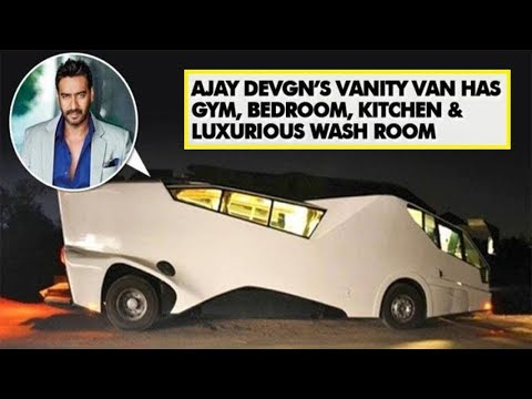 Top 5 Vanity Vans Of Bollywood Celebs [Bollywood Cafe]