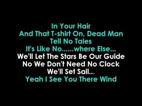 Kenny Chesney   Bar at the End of the World karaoke