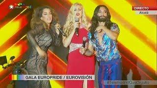 Conchita Wurst, Ruth Lorenzo, Suzy - World Pride Madrid, 01....