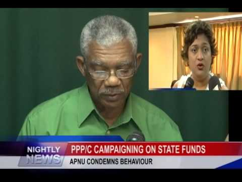 PPPC CAMPAIGNING ON STATE FUNDS