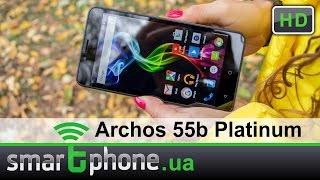 archos 55b Platinum - Обзор большого и недорогого смартфона