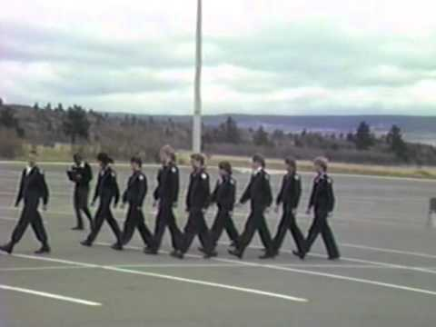 Cheyenne East High AF Academy 1989 Drill Meet Black Watch and Air Force One