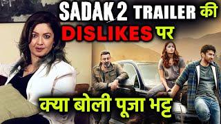 Breaking News: Alia Bhatt's Sister Pooja Bhatt Reaction On Sadak 2 Trailer Dislikes