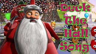 Deck The Hall Song | Kids Songs | Nursery Rhymes | Baby Songs | Children Songs
