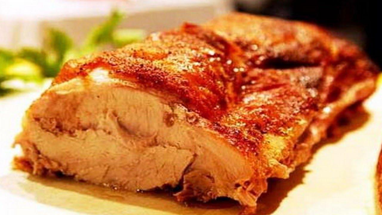 Как запекать свинину в рукаве