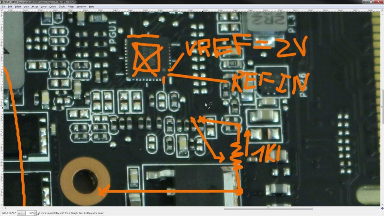 GTX 1070 Dual Vcore volt mod