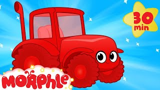 My Red Tractor - My Magic Pet Morphle Vehicle Videos For Kids