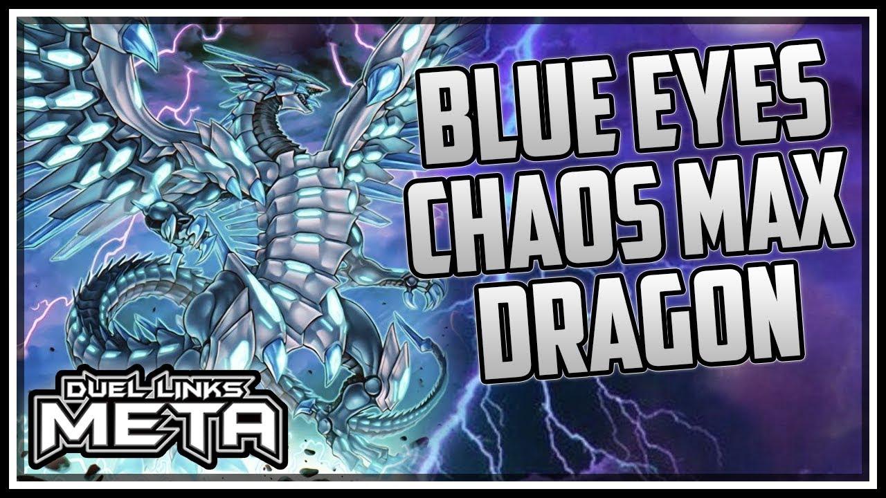 Blue Eyes Chaos Max Dragon Yu Gi Oh Duel Links Youtube
