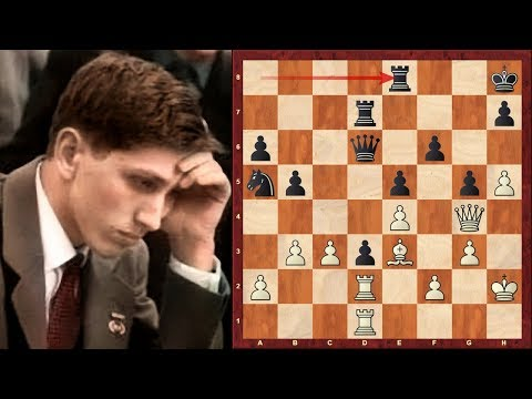 Amazing Chess Game : Bobby Fischer vs Arthur Bisguier - US ...