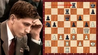 Amazing Chess Game : Bobby Fischer vs Arthur Bisguier – US Ch. 1963 – Ruy Lopez  (Chessworld.net)