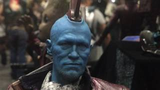 Hot Toys Marvel SDCC 2017 Display! Thor Ragnarok, Guardians Of The Galaxy, Spider-man & MORE!