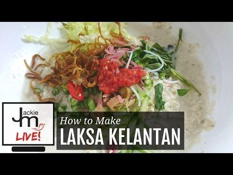 LIVE Replay - How to Make Laksa Kelantan
