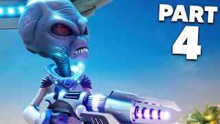 DESTROY ALL HUMANS REMAKE Gameplay Walkthrough Part 4 - SNEAKING INTO AN ARMY BASE