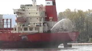 Cargo Ship Fire Drill