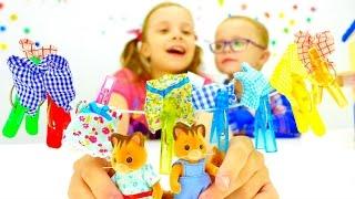 Игры для детей - Видео с игрушками Village Story