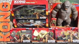 Ripping Open 6 KONG: SKULL ISLAND Toys ~Action Figures ~ Vehicles ~ Play Sets ~ Creatures