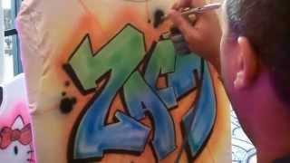 Graffiti Zach Bar Mitzvah style