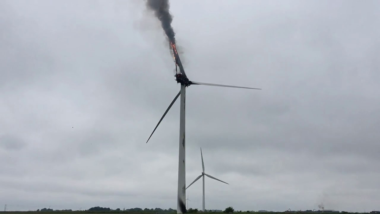Gamesa turbine catches fire at UK wind farm | Windpower Monthly