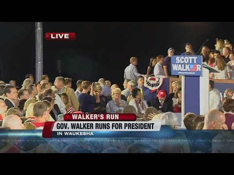 Scott Walker to announce presidential plans in Waukesha Monday