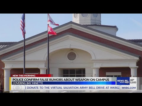 VIDEO: No weapon found on Baldwin County High School Campus