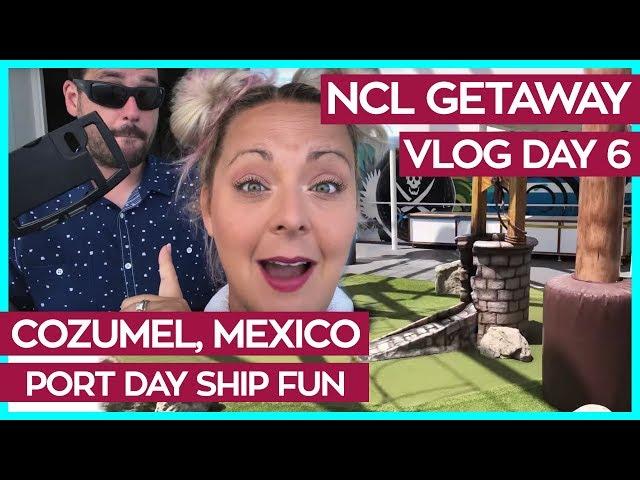 Exploring the Getaway at Port | Norwegian Getaway Cruise Vlog Day 06