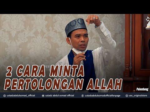 2 CARA MINTA PERTOLONGAN ALLAH ᴴᴰ   Palembang   Ustadz Abdul Somad, Lc., MA