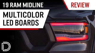 homepage tile video photo for Multicolor Ram Headlights! | RGBW LED Boards for 2019+ Ram 1500 Midline