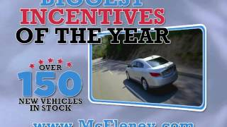 McEleney Auto Center 99 Year Epic Savings GM TV ad July 2013