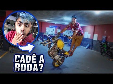 DESAFIE ELE A EMPINAR SEM A RODA DIANTEIRA ✶fiquei impressionado ✶ thumbnail