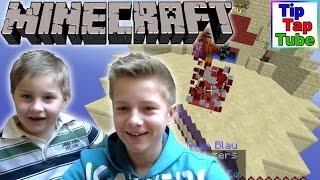 GEWONNEN!! Let's Play Minecraft Bed Wars online Ash und Max TipTapTube-Kinderkanal