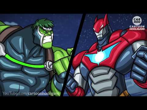 Baulk vs Ironbat - What If Battle [ Superheroes Parody ]
