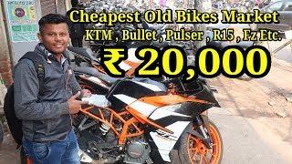 Cheapest BIKE MARKET DELHI KTM,Bullet,Apache,Pulsar Second Hand Bikes Market Delhi