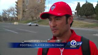 Lobos in mourning after player's death