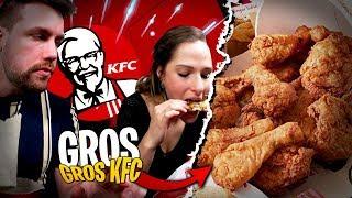 Énorme dégustation, on dévalise KFC avec Pidi...